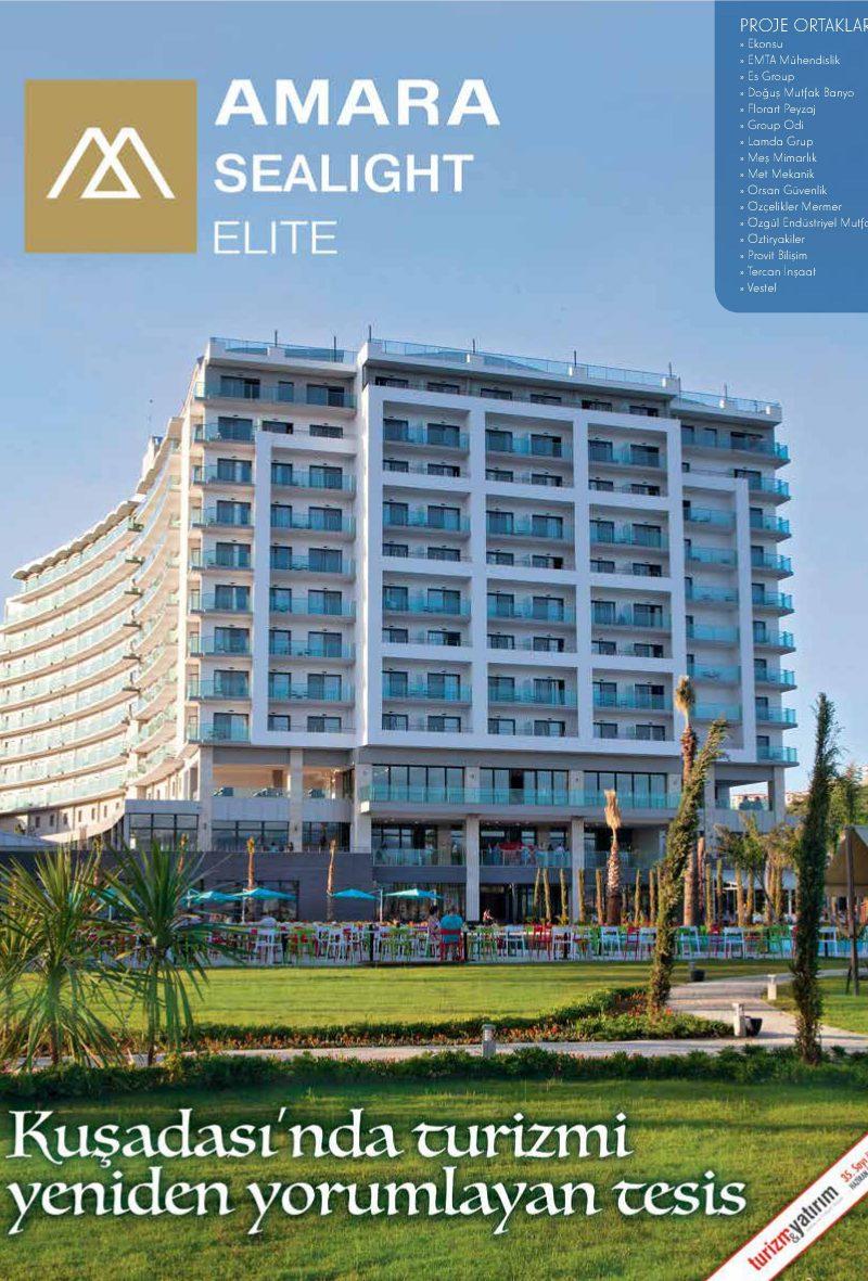 Turizm&Yatırım – Haziran 2015 – Amara Sealight Elite Özel Eki