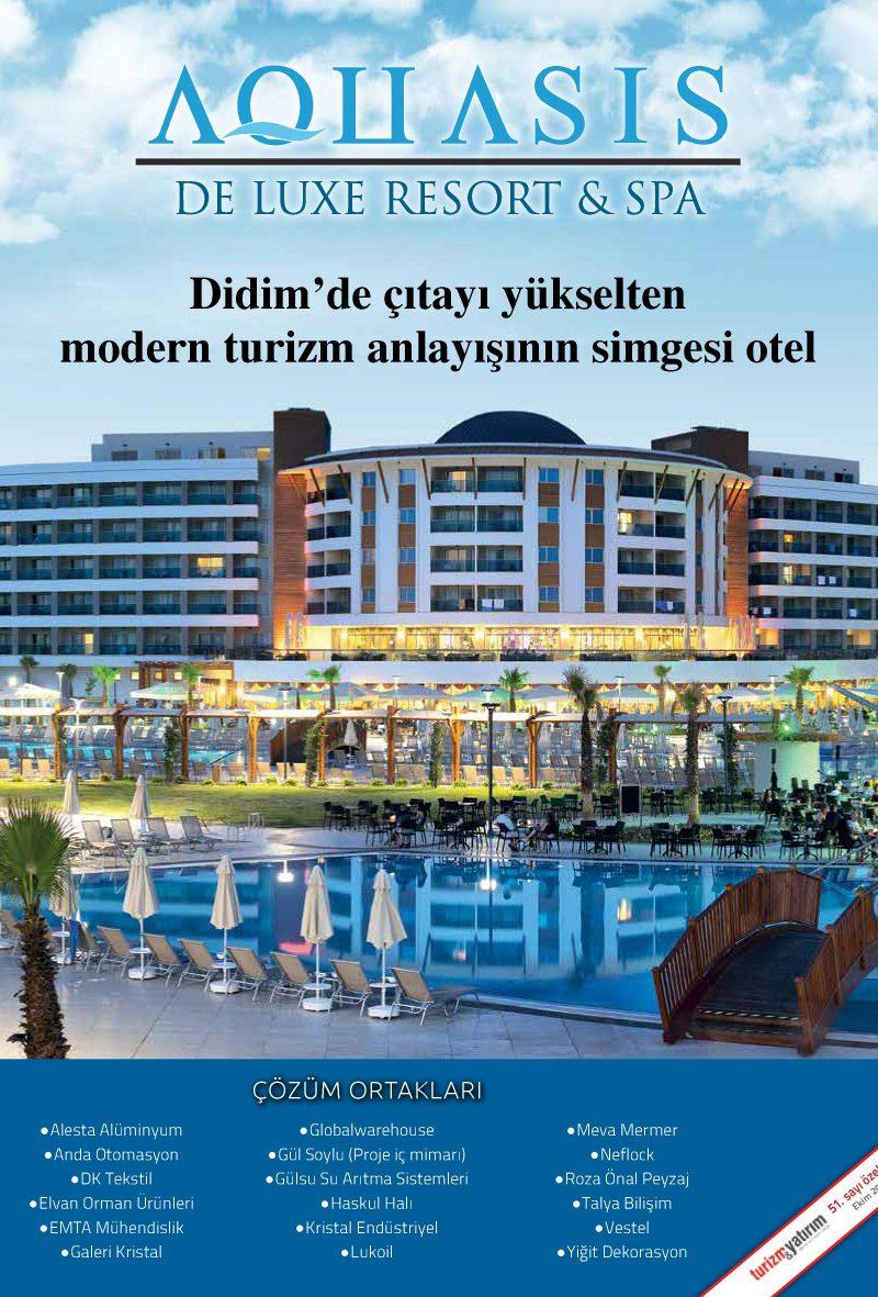 Turizm&Yatırım – Ekim 2016 – Aquasis Deluxe Resort & Spa Özel Eki